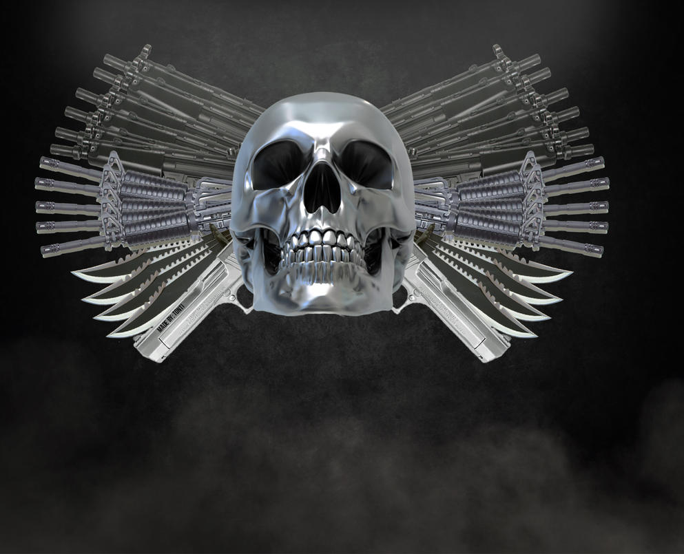 Expendables 2 logo by tonti111 on DeviantArt