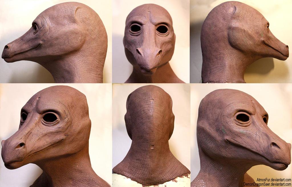 Saer Head Sculpt by AtmosFur