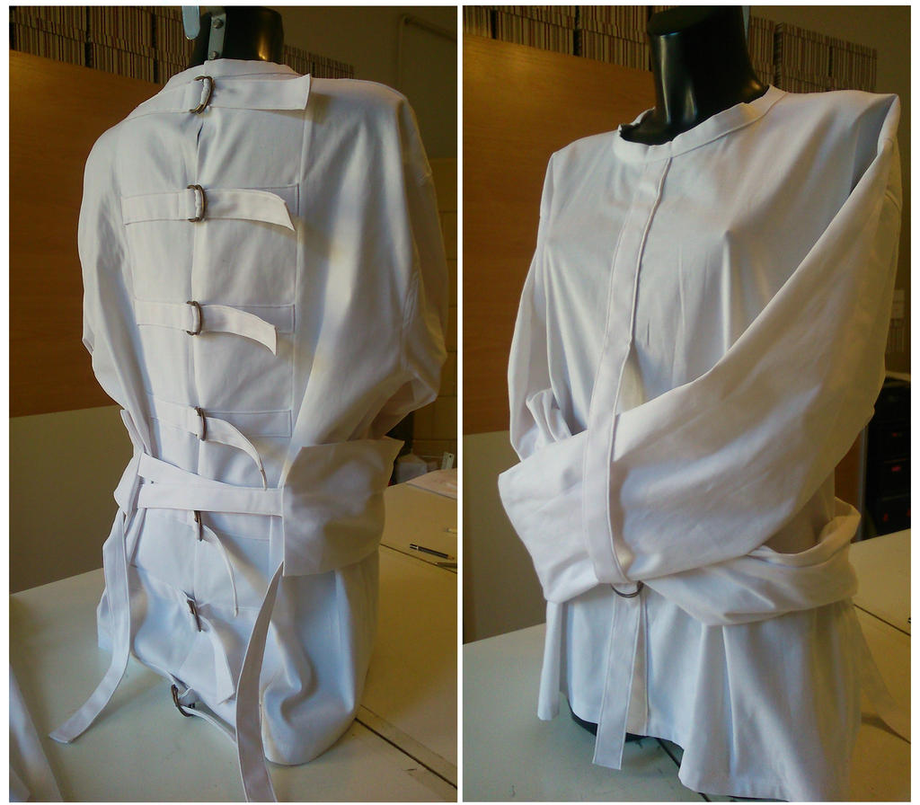 Costume Strait Jacket by WonderNeedle on DeviantArt