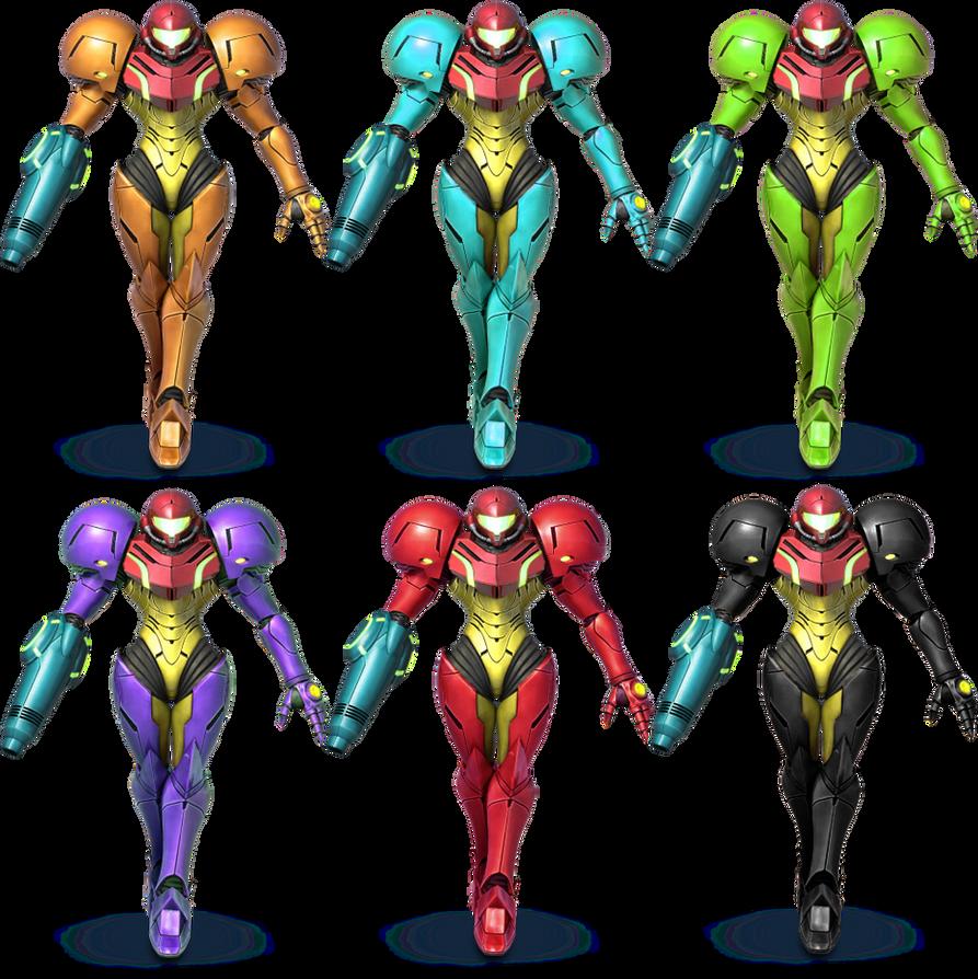 Zero suit samus ssb4 alternate costume