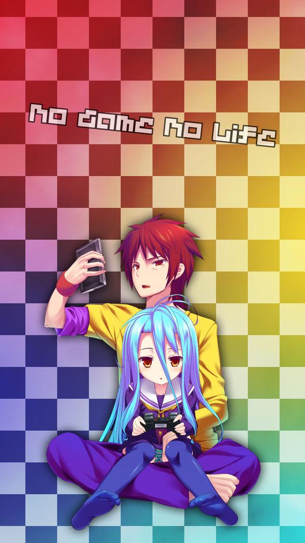 Sora And Shiro Mobile Wallpaper No Game No Life By Smoothmoney