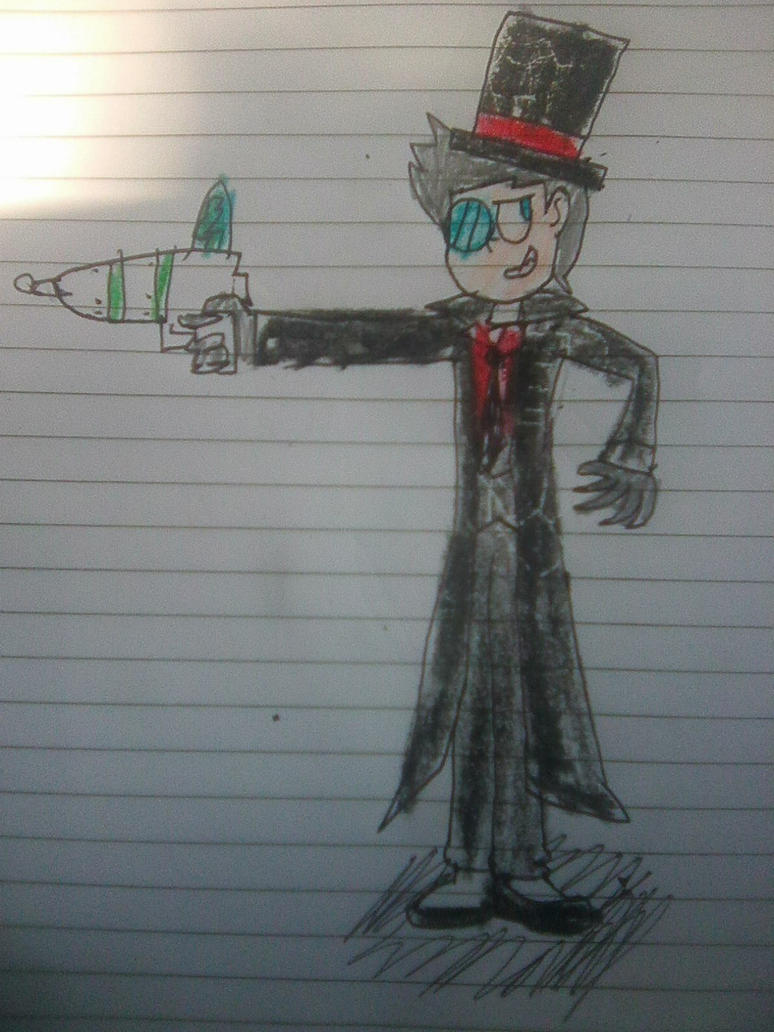 Derek as Black Hat by SuperMario1792