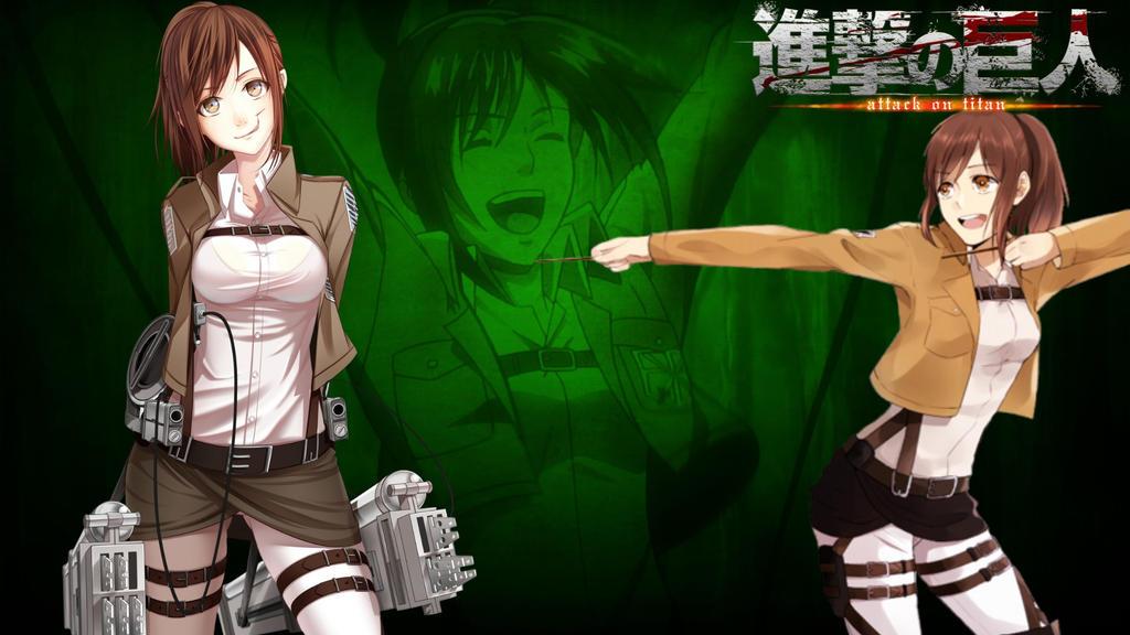 Attack On Titan Sasha Blouse Wallpaper By Kasumininjaboy On Deviantart