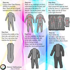 Fursuit Body Tutorial