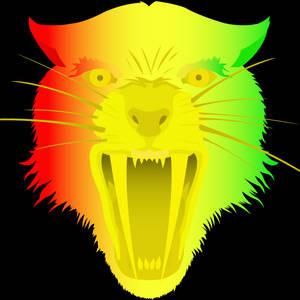 Rasta Saber Tooth Tiger