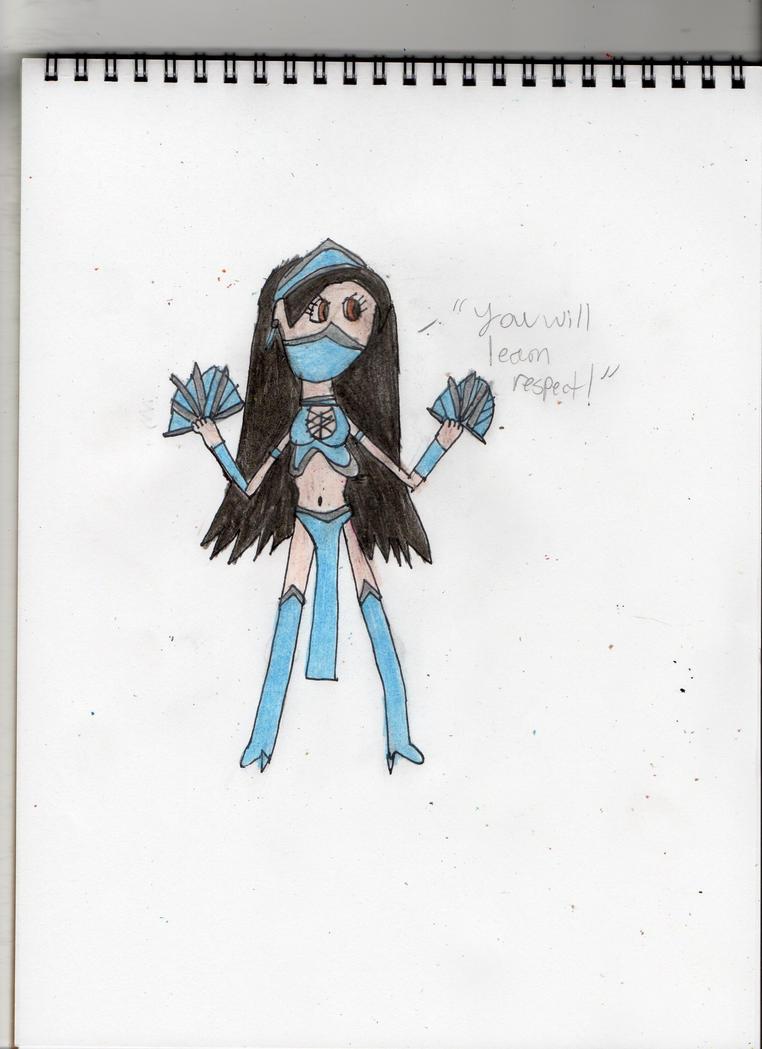 Kitana from Mortal Kombat by DisneySquirrelGem