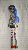 Dead Tired Ghoulia by Muggle-Gem-Princess