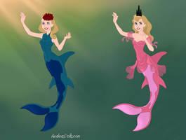Loud Sister Mermaids 4 by Muggle-Gem-Princess