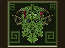 Green Man horns by ORUPSIA