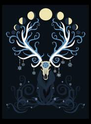 Moon Elk by ORUPSIA