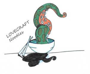 Lovecraft Noodles 25-12-2017 by sacerludum