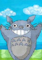 Totoro 11/02/2018 by sacerludum