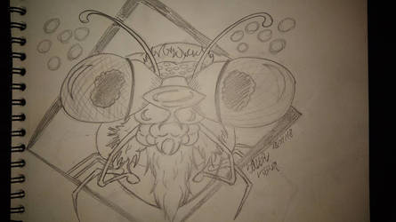 mosquito sketch by sacerludum