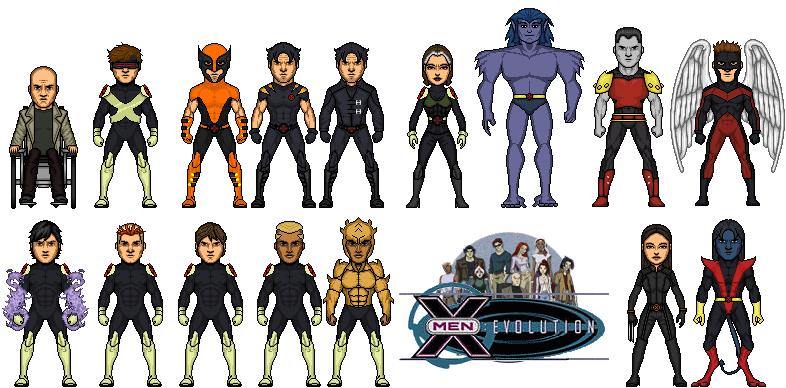 X-MEN Evolution by Mic...