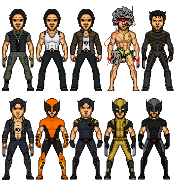 wolverine costumes by MicroTraceour ...  sc 1 st  DeviantArt & wolverine costumes by MicroTraceour on DeviantArt