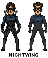 Nightwing by MicroTraceour
