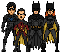 YJ Bat-family by MicroTraceour
