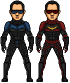 Nightwing (Nolanised) by MicroTraceour