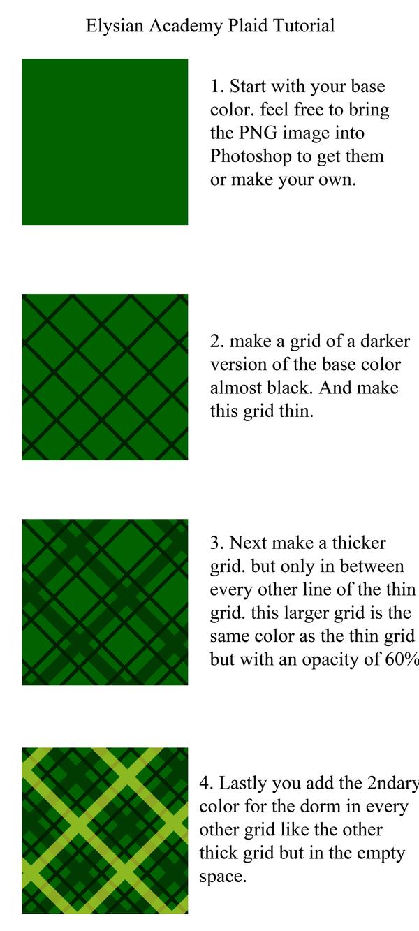 plaid tutorial by Elysian-Academy