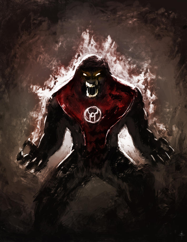Atrocitus quick sketch by Psichodelic