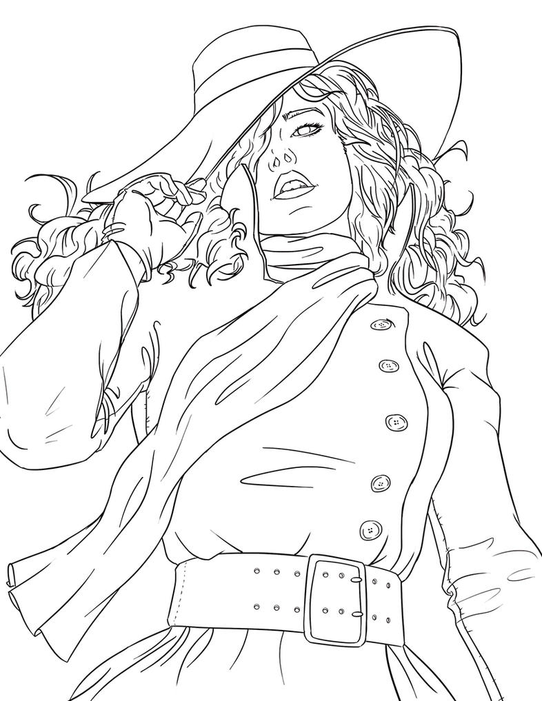 Carmen Sandiego by Psichodelic