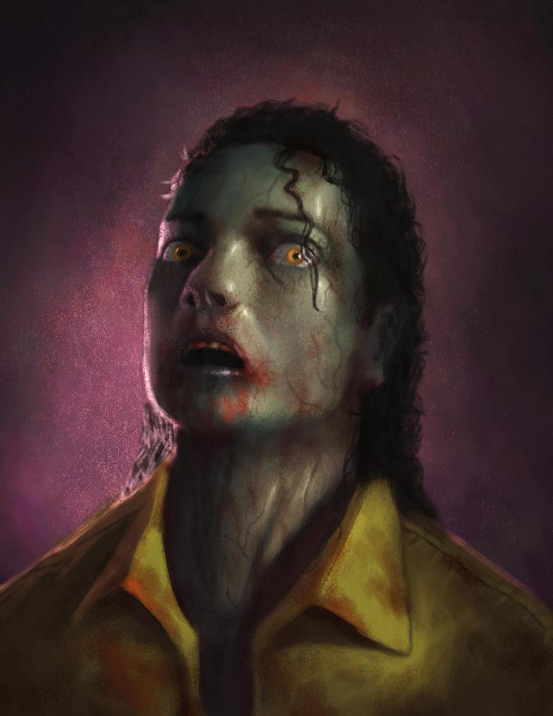 Zombie portrait by Psichodelic