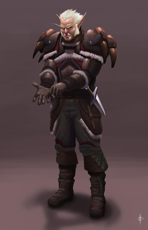 Blood Elf Rogue by Psichodelic