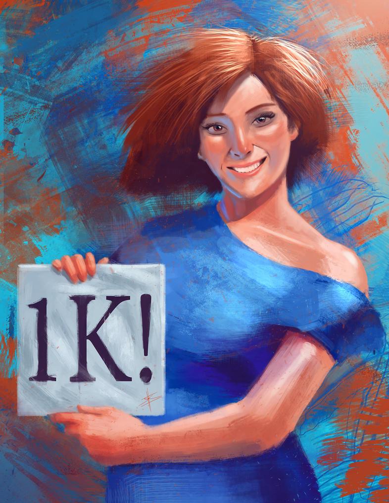 1k Poster by Psichodelic