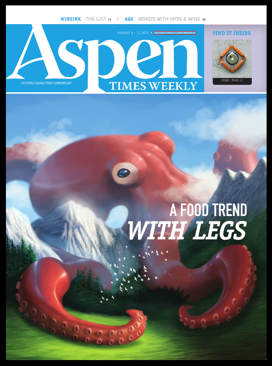 Cover for Aspen Times Weekly by Psichodelic