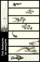 Fish Bookmarks by ausrejurke