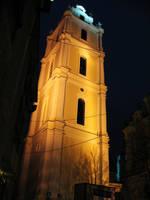 Campanile of Church in Vilnius by ausrejurke