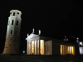 Vilnius Cathedral Basilica by ausrejurke