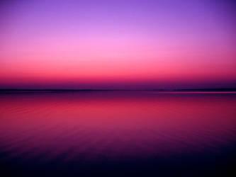 Calm Sunset by ausrejurke
