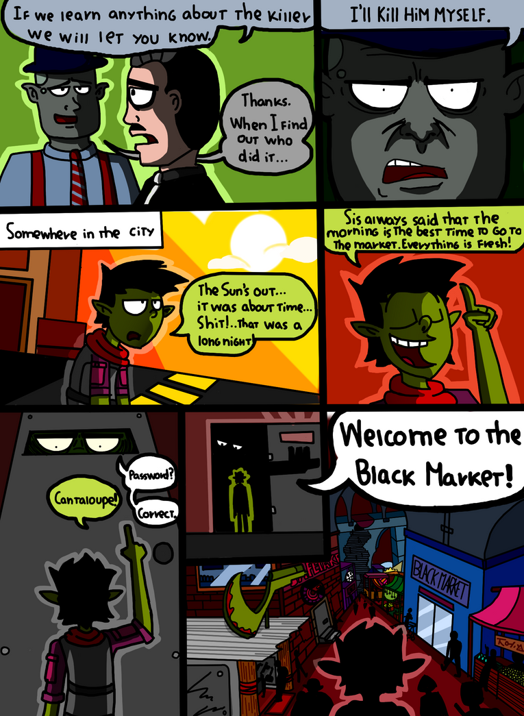 Headhunters Chapter 2 page (9-11) by Emineitor