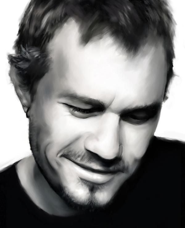 Heath Ledger by idavaag
