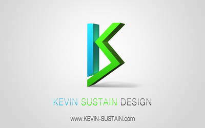 Kevin Sustain 3D-Logo by kevinsustain