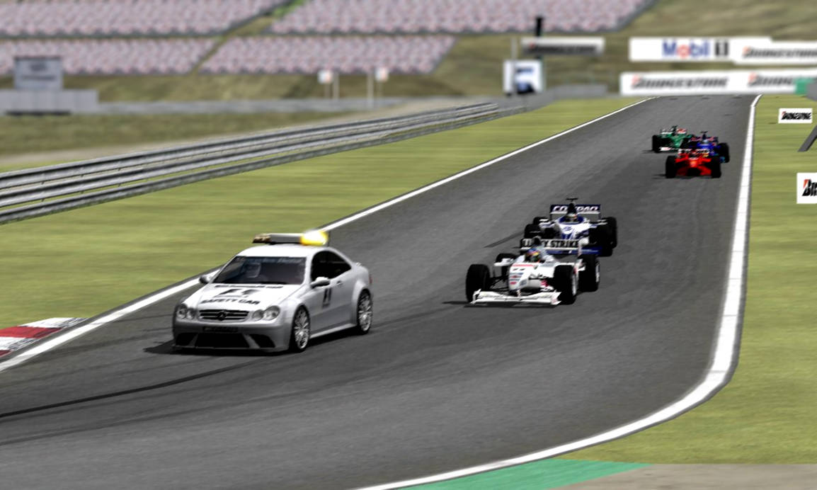 rFactor - Behind the Safety Car at Hungaroring by RKv15 on DeviantArt