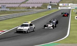 rFactor - Behind the Safety Car at Hungaroring