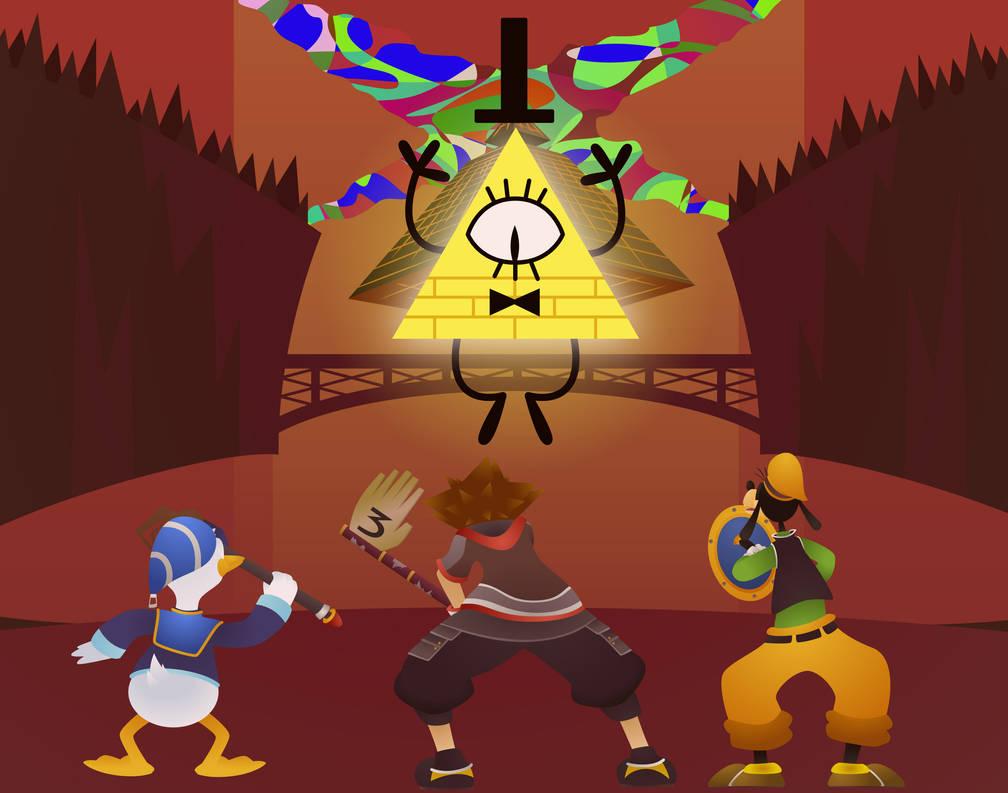 Kingdom Hearts III: Welcome to Gravity Falls Ch  4 by Zaidan on