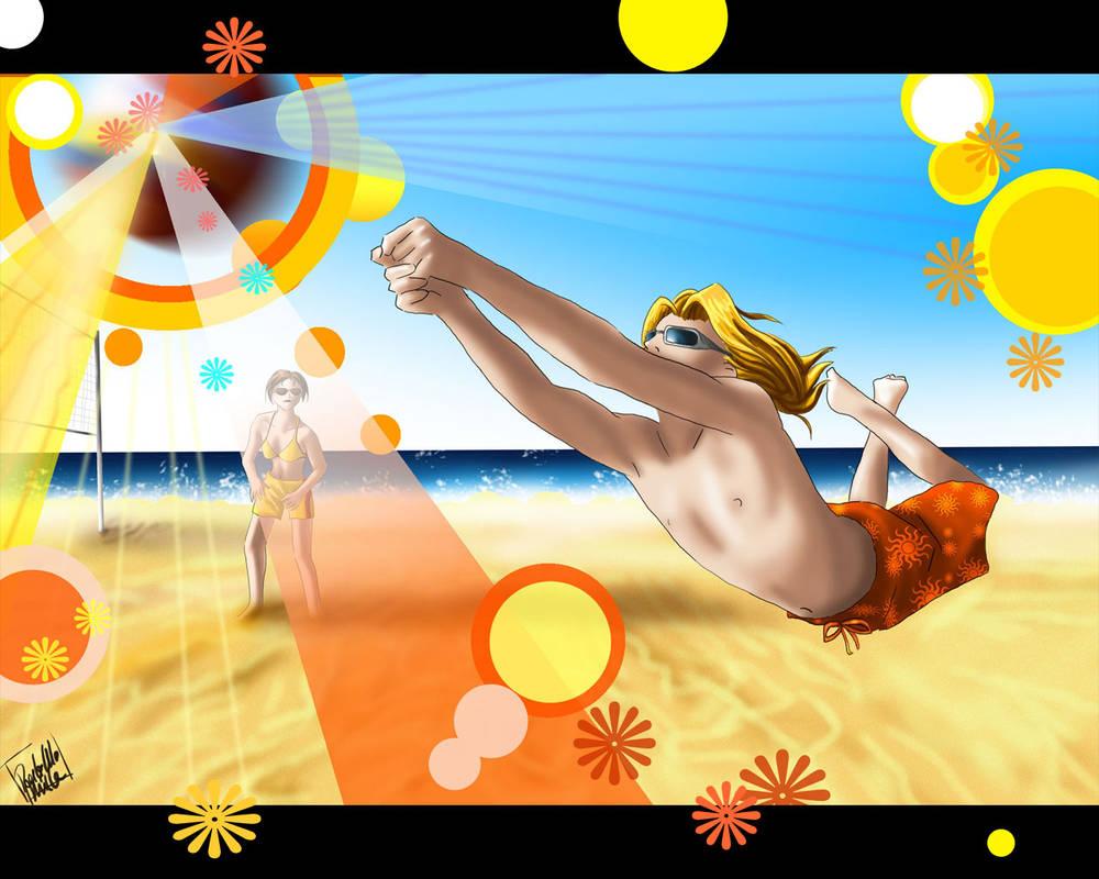 Beach Voley Porn Comic volleyball wallpaperyongfoo-ds7 on deviantart