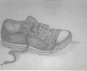A Dirty Shoe by TackyVintage