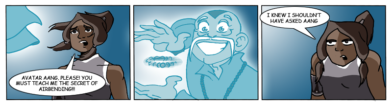 Aang and Korra by alan-cooper