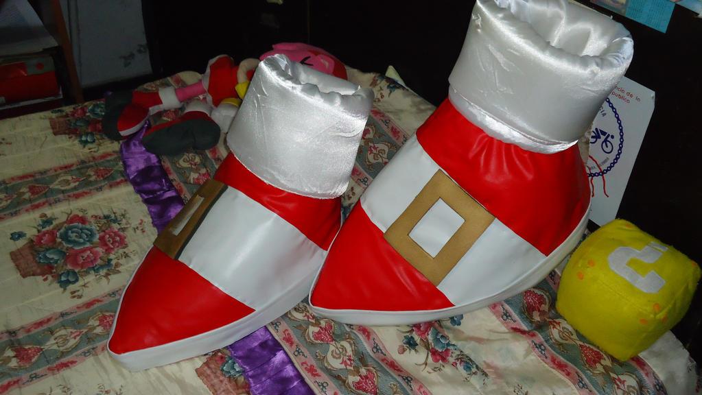 Sonic Shoes 2.0 by ThunderDaisaku