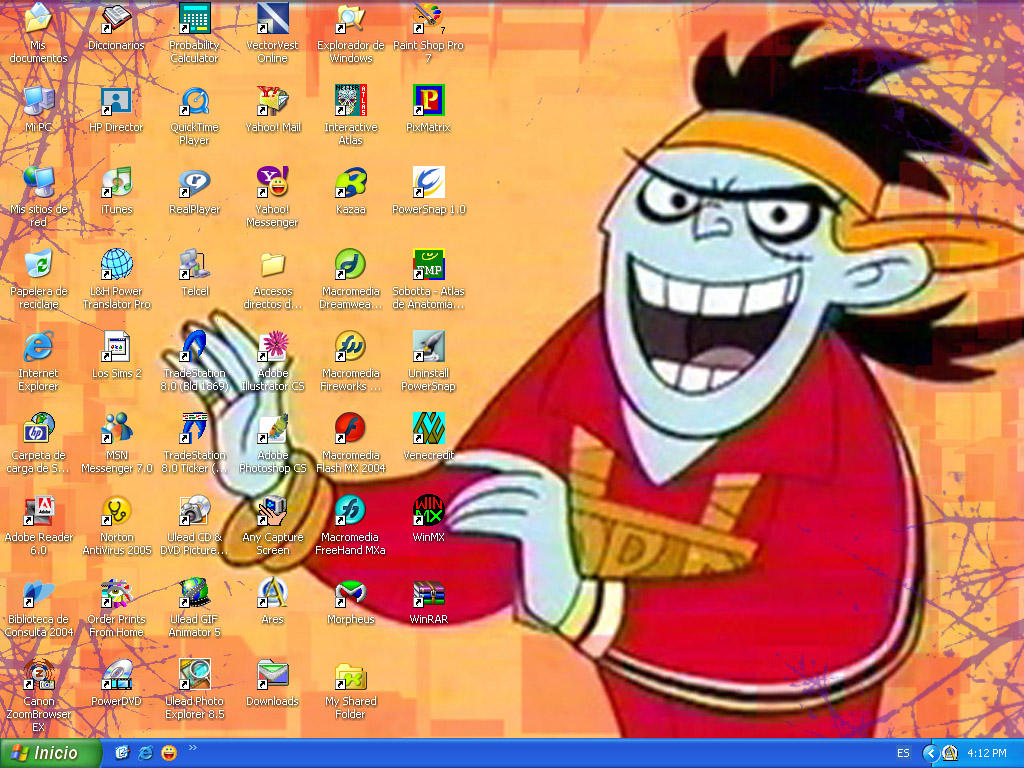 Rappin Drakken Desktop by DrDrakken-FanClub