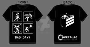 Portal Bad Day T-shirt