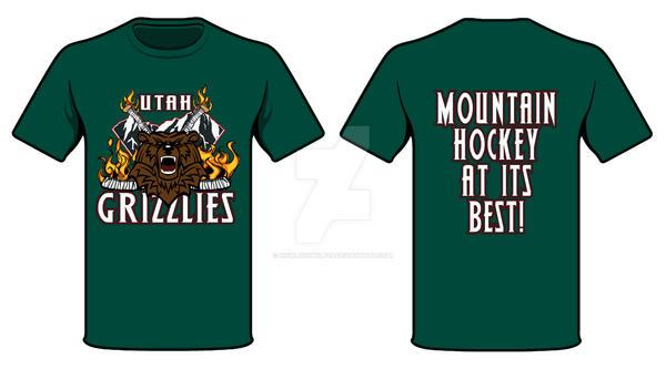 Utah Grizzlies T-shirt Concept