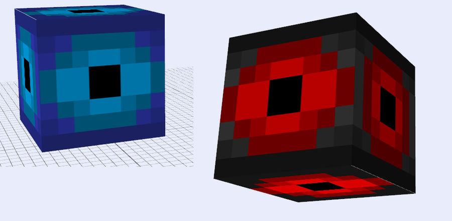 Minecraft Mob Idea - Shockube