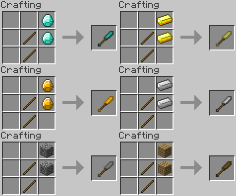 Minecraft tool ideas ice pick by redpanda7 on deviantart for How do you craft in minecraft