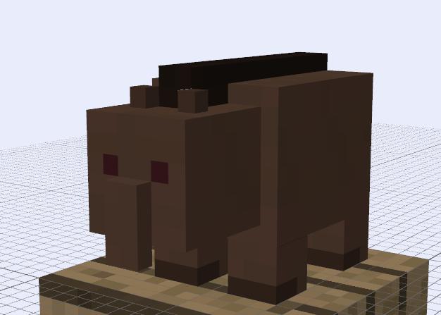 Minecraft Mob Ideas - Tapir