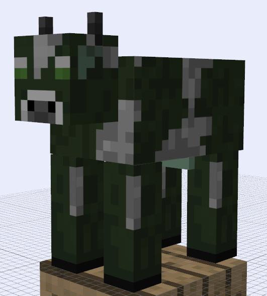 Minecraft Mob Ideas Mad Cow By RedPanda7 On DeviantArt